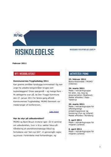 Download nyhedsbrevet for februar 2011 - primo