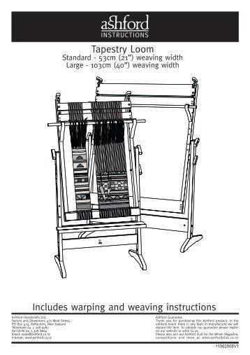 Ashford: Double Weave Project