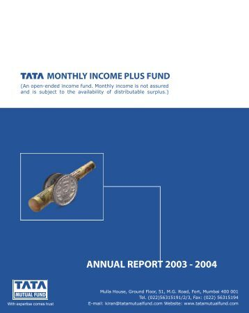 conclusion of tata mutual fund Tata mutual fund: get the latest information on tata mutual fund schemes, returns, latest nav, ratings tata mutual fund manager, tata mutual fund application form.