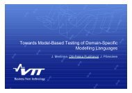 Towards Model-Based Testing of Domain-Specific Modelling Languages ...