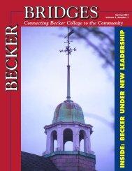Spring 2004 - Becker College