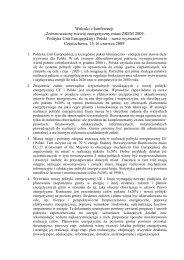 Wnioski z konferencji - Energia i środowisko w Częstochowie