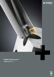 KOMET KUB PentronTM - Vollbohren bis 5xD - Power-Tools