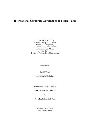 does corporate governance enhance firm performance Corporate governance, investor protection, and firm performance in mena countries iftekhar hasan, nada.