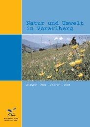 Natur und Umwelt in Vorarlberg - Vorarlberger Naturschutzrat
