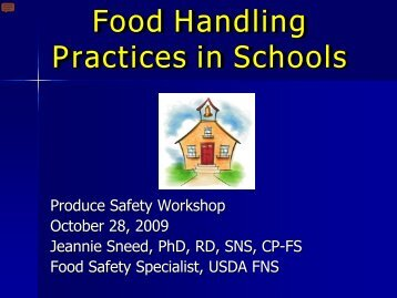 research food handling practices Research article open access factors affecting food handling practices among food handlers of dangila town food and drink establishments, north west ethiopia.