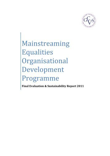 Evaluation Report - Supporting Voluntary Action - Scottish Council ...