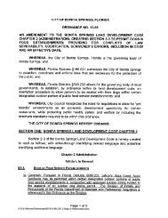 Ordinance No. 13-06 Permit Dogs in Food Establishments