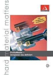 ProfileMaster – Zerspanen neu definiert - Power-Tools