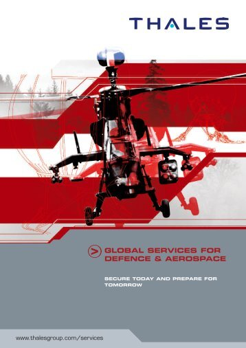global services for defence & aerospace - Customer Online - Thales ...