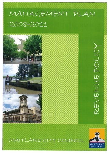 Fees and Charges 2008/2009 - Maitland City Council