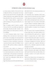 INTERVISTA A PAOLA MANGIA di Fabrizio Lemme - studiolemme