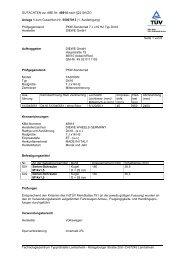 GUTACHTEN zur ABE Nr. 48914 nach §22 StVZO Anlage 1 zum ...