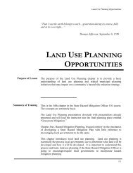 Chapter 5: Land Use Planning Opportunities - Public Entity Risk ...