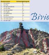 Klettergarten Bivio - Savognin