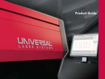 Page 1 Page 2 > Since its founding in 1988, Universal Laser ...