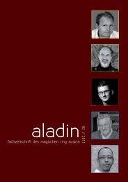 fachzeitschrift des magischen ring austria 02 / 2011