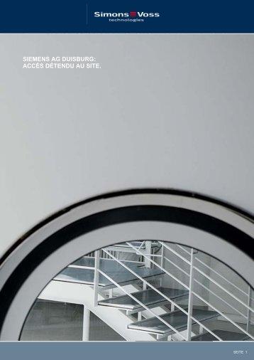Téléchargement du rapport Projets réalisés (PDF) - SimonsVoss ...