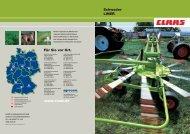 Schwader LINER Für Sie vor Ort. www.claas.de ... - Lectura SPECS