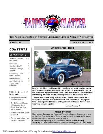 tc mar 2003 pdf - Doubleknot