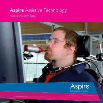 Assistive Technology Brochure Assistive Technology ... - Aspire