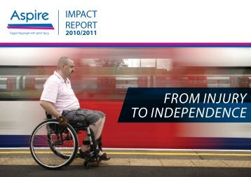 From Injury to Independence - Aspire