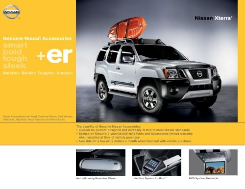 Nissan Xterra | Accessories Brochure | Nissan USA