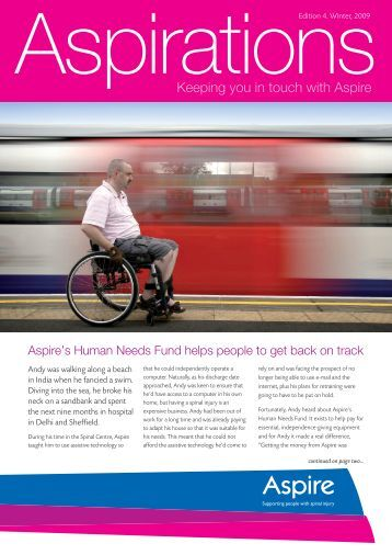 Keeping you in touch with Aspire