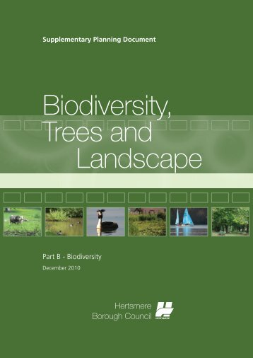Biodiversity - Hertsmere Borough Council