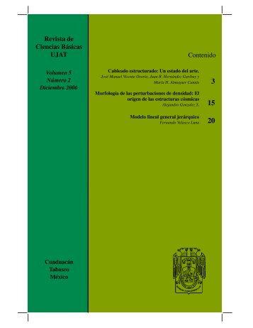 pdf 2.6Mb - Publicaciones - Universidad Juárez Autónoma de Tabasco