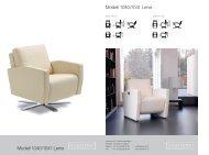 Modell 1040/1041 Lenis Modell 1040/1041 Lenis - Design Lounge ...