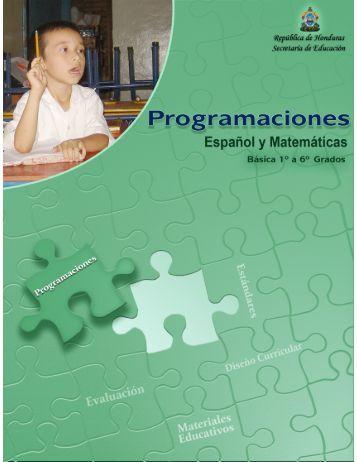 Programaciones Español y Matemáticas 1 - EQUIP123.net