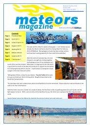 Contents February 2012 - Meteors Triathlon Club