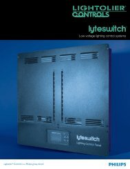 lyteswitch® - Philips Lighting Controls