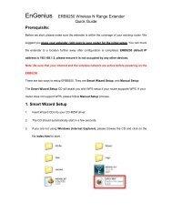 EnGenius ERB9250 Wireless N Range Extender Quick Guide ...