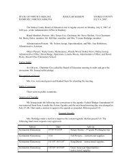 Board Meeting 7/09/07 - Stokes County Schools