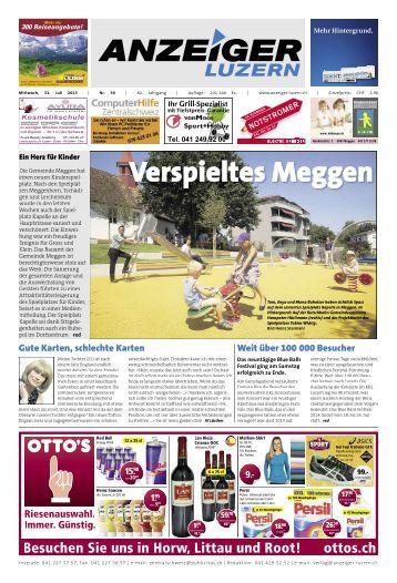 Anzeiger Luzern, Ausgabe 30, 31. Juli 2013