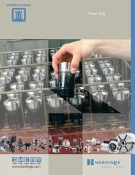 Hardinge Workholding Product Guide - Hardinge Inc.