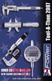 Electronic Indicator - JW Donchin CO.