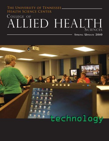 allied health - The University of Tennessee Health Science Center