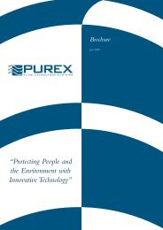 Purex Brochure - Solar Laser Systems Ltd