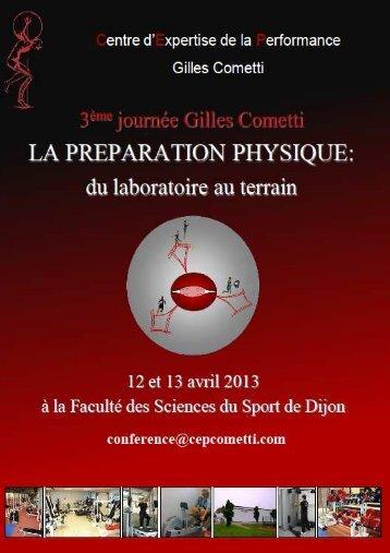 Plaquette - Centre d'Expertise de la Performance Gilles Cometti