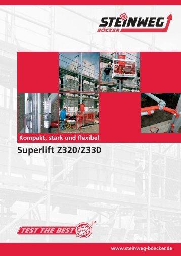 Superlift Z320/Z330 - Steinweg-Böcker