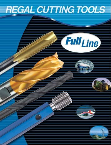Regal Cutting Tools Catalog.pdf - JW Donchin CO.