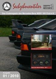 Das Clubmagazin des Mercedes-Benz W201 16V Club e.V.