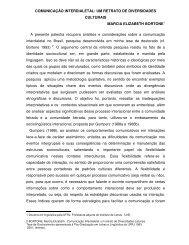 COMUNICAÇÃO INTERDIALETAL: UM RETRATO DE ...
