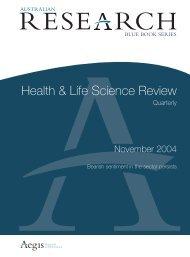 Health & Life Science Review - Bone Medical Ltd
