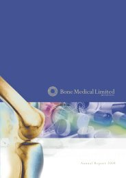Details - Bone Medical Ltd