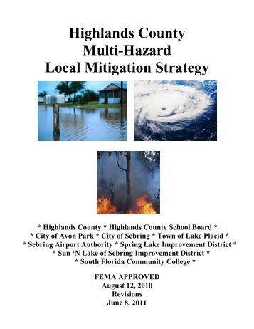 Local Mitigation Strategy - Highlands County