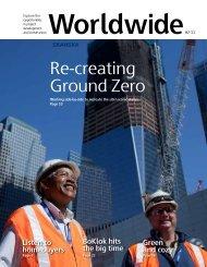 Re-creating Ground Zero - Skanska